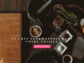 Chef cuisine gastronomique