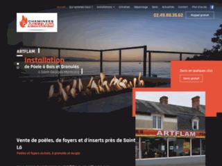 Détails : Vente de poêles, de foyers et d'inserts près de Saint-Lô