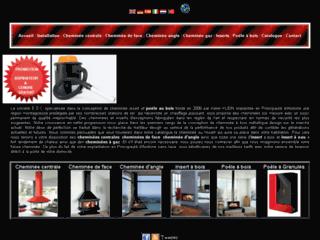 Détails : E.D.C, cheminées et poêle à bois