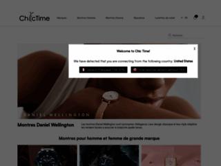Vente de montre homme sur Chic Time