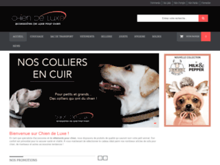 Détails : Accessoires et vêtements de Luxe pour chien chic - Chien de Luxe