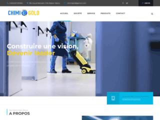 CHIMIGOLD - Produits et Matériels de nettoyage professionnels Maroc