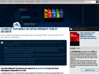 Détails : Chiny - Cours et tutoriaux de développement et sécurité Web