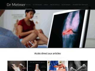 Chirurgien orthopédiste à Bordeaux, Dr Metmer