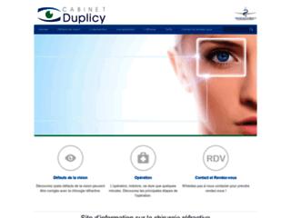 Détails : Cabinet Duplicy