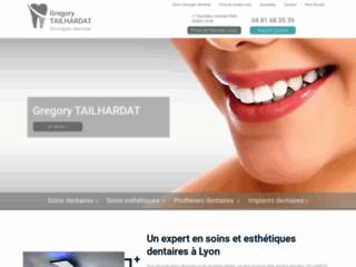 Monsieur TAILHARDAT, soins et esthétique dentaires à Lyon