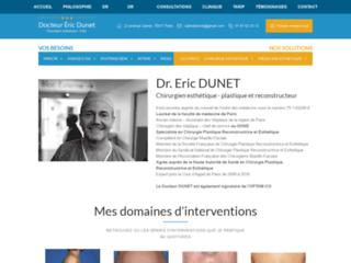 Docteur Dunet: spécialiste de la chirurgie esthétique