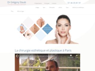 Gregory Staub, votre chirurgien esthétique