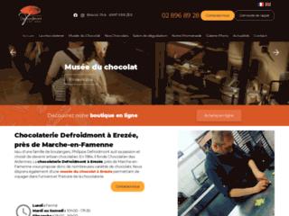 Chocolaterie Defroidmont à Erezée, près de Marche-en-Famenne