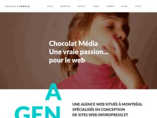 Détails : Chocolat Media - Conception et création eCommerce