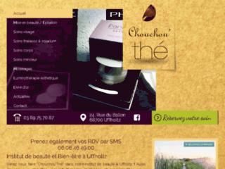 Détails : Chouchou thé, institut de beauté