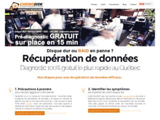 Chronodisk - récupération de données à Montréal