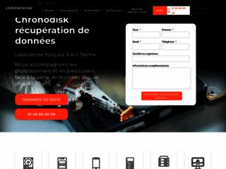 Chornodisk - recuperation de donnees à paris