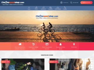 Chronosportshop, site de vente privée de matériel de sport