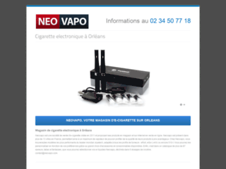 E-liquide et cigarette électronique Neovapo Orléans