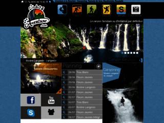 Détails : CilaosAventure - Canyoning Réunion - Tunnels de Lave