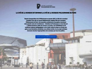 Détails : Cité de la Musique