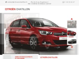 Détails : Garage automobile à Malakoff et régions   Citroën Chatillon