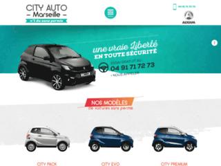 Location et livraison de véhicules sans permis à Marseille 13, City Auto