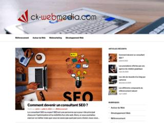 Détails : Création sites web et référencement