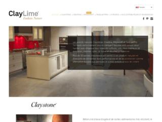 Détails : Enduits naturels ClayLime - Claystone - Creatina - TadelaktPro