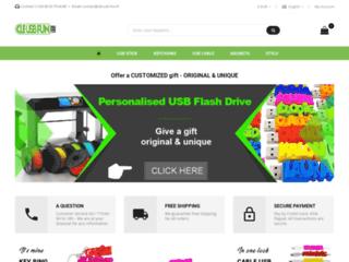 Clé USB Fun, la boutique de vente des cadeaux personnalisés