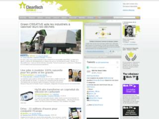 Détails : Cleantech Republic, actualité des éco-innovations et environnement