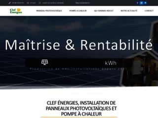 Détails : Clef Energies, installateurs de panneaux solaires