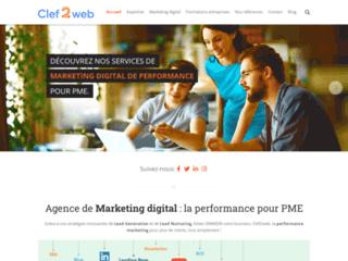 Détails : Clef2web, votre agence webmarketing en Belgique