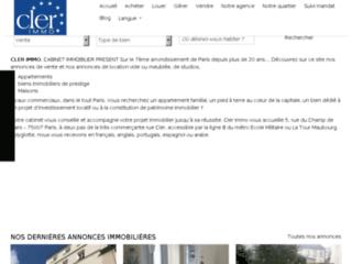 Détails : Agence immobilière ClerImmo sur Paris