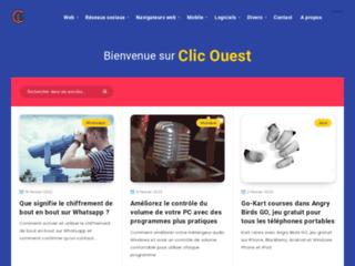 Clic Ouest Conception de site web