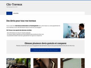 CLIC TRAVAUX, travaux de rénovation
