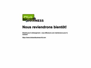 Détails : Conception de site internet : clickandbusiness