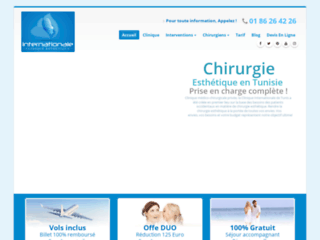 Détails : Liposuccion complète et chirugie du visage en Tunisie tout compris