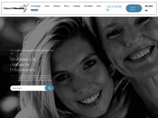 Clinique de l'Observatoire, centre esthétique et de chirurgie à Uccle, Bruxelles