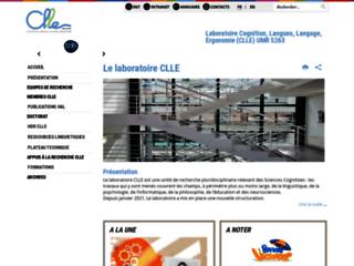 LABORATOIRE COGNITION, LANGUES, LANGAGE, ERGONOMIE (CLLE) UMR 5263
