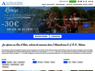 Clos d'Alice - Colonie, centre de vacances dans l'Hérault et centre équestre