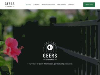 Clôtures Geers, l'expert en fourniture et en pose de clôtures à Maubray
