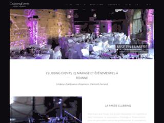Détails : Clubbing Events : Sono DJ à Roanne, Loire et Puy de Dôme.