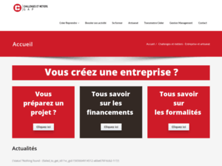 Cm-gap.fr, portail entreprise et artisanat
