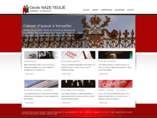 Détails : Naze-Teulié, avocat à Versailles en droit pénal