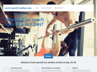 Coach-Sportif, un site internet pour tout savoir sur le coaching sportif à Antibes