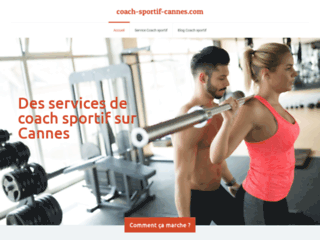 Coach sportif à Cannes