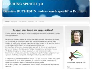 Coaching sportif 3D