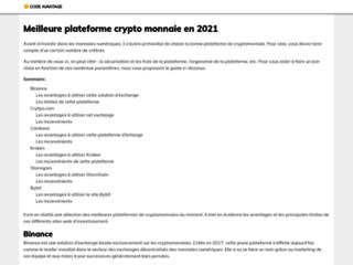 Détails : Code promotion