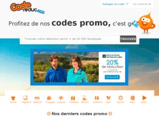 Dénichez des codes promo pour vos boutiques en ligne préférées sur CodeReduc.com