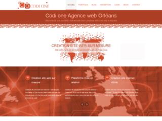 Codi one - la création de site internet