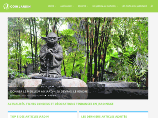 Coin Jardin - Le Magazine Jardin Connecté et Innovant