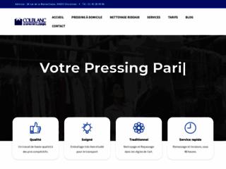 Détails : Pressing a domicile   Pressing Colblanc