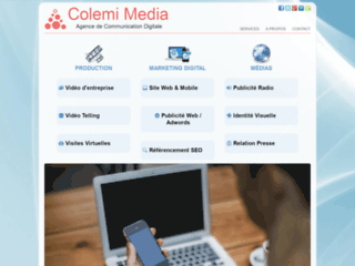 Détails : Colemi Media, agence de communication web en Suisse romande